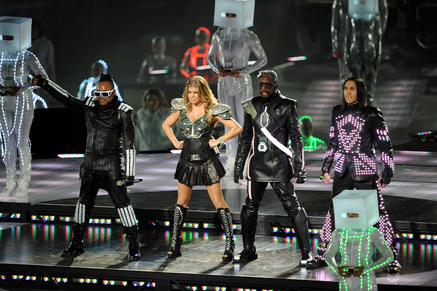 Black Eyed Peas at The Super Bowl XLV