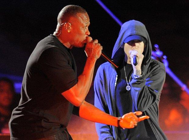 Dr Dre and Eminem
