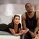 Image 5: Kanye West and Kim Kardashian on bed