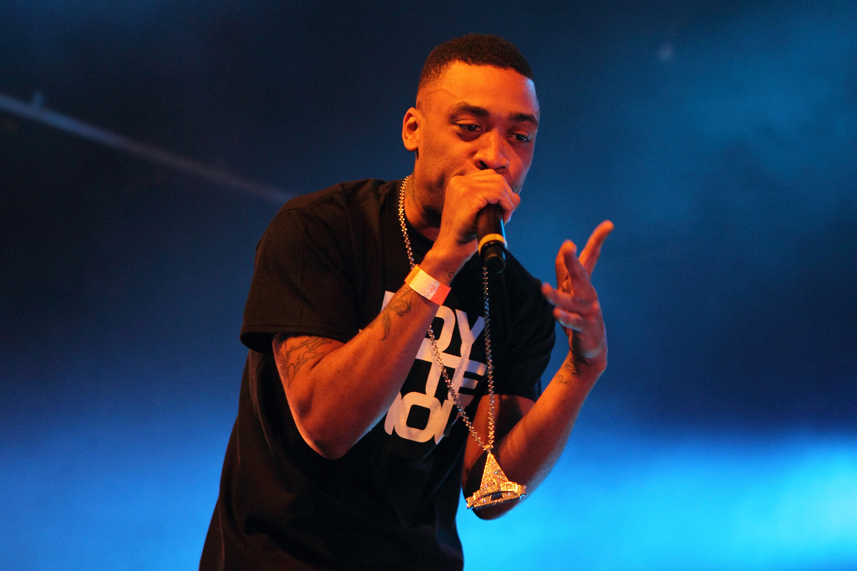 Wiley perform in London