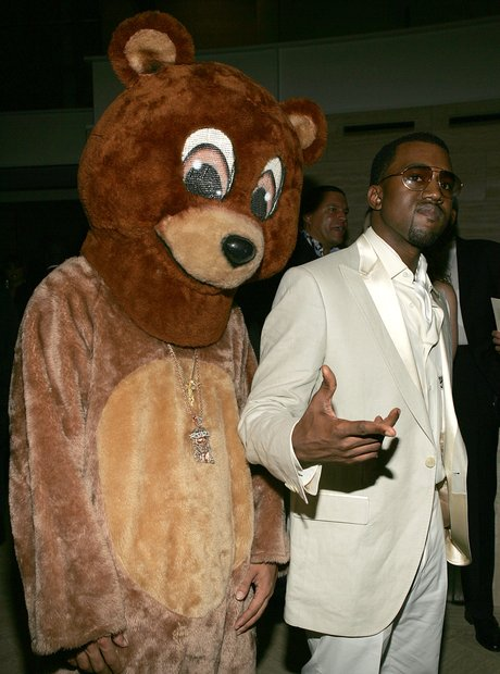 Kanye West Dropout Bear mascot