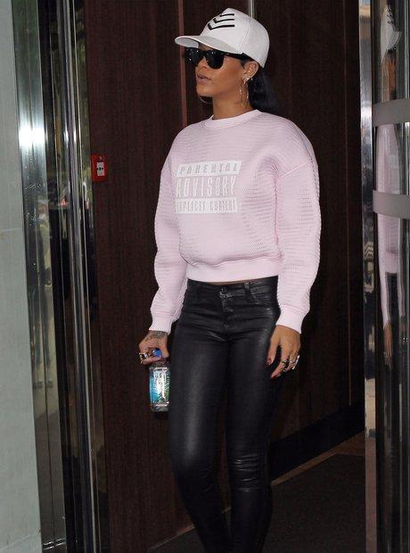 Rihanna Parental Advisory Jumper
