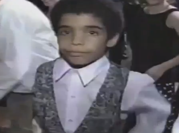 Drake dancing at his bar mitzvah
