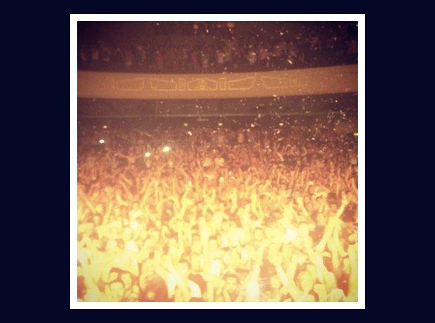 Armin Van Buuren on stage in Glasgow