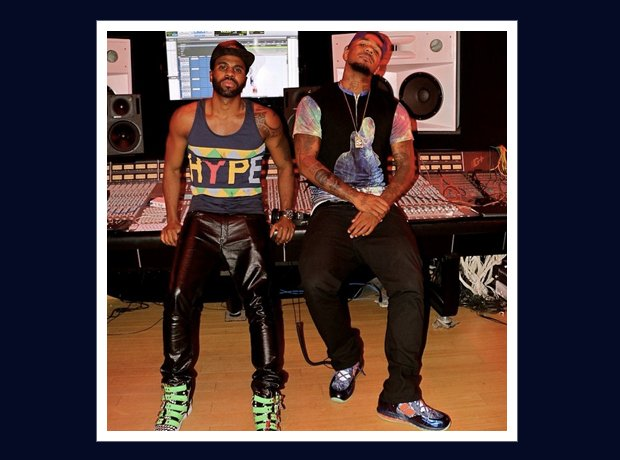 Jason Derulo And The Game In The Studio