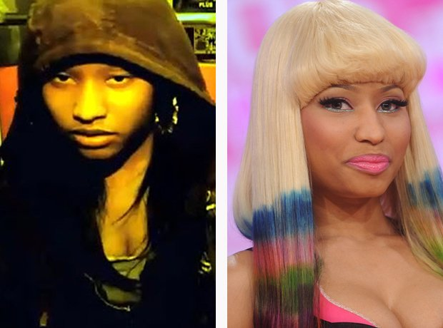 Nicki Minaj before she was famous