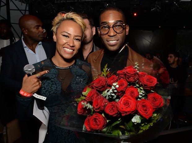 Tinie Tempah and Emeli Sande at album launch