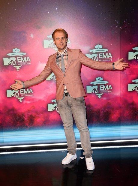 Armin Van Burren at MTV EMAs 2013