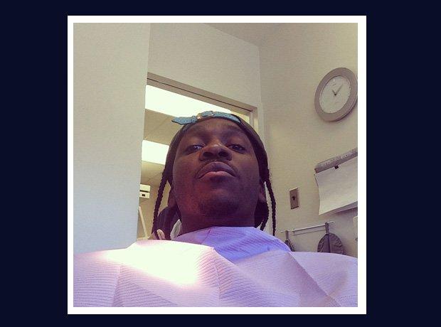 Pusha T having wisdom teeth out