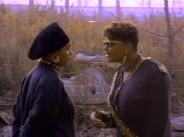 Monie Love and Queen Latifah - Ladies First