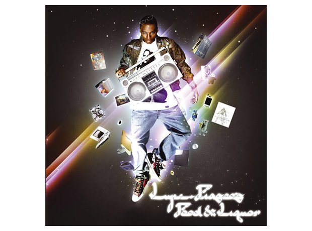 Lube Fiasco, 'Food And Liquor' album cover artwork