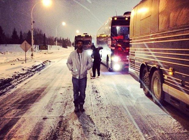 Drake In The Snow