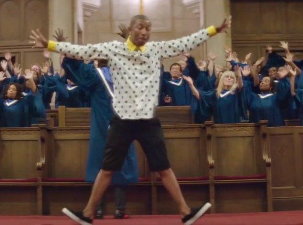 Pharrell Happy Video