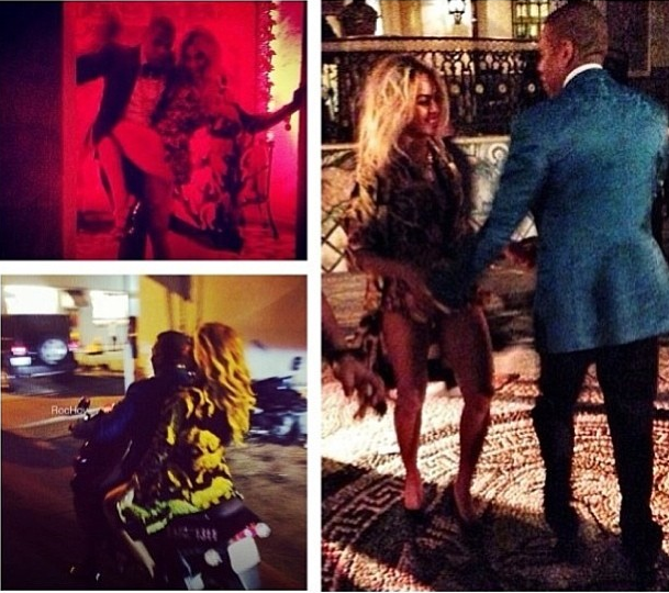 Beyonce Jay Z New Years