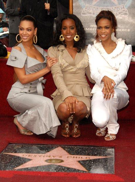 Destinys Child walk of fame