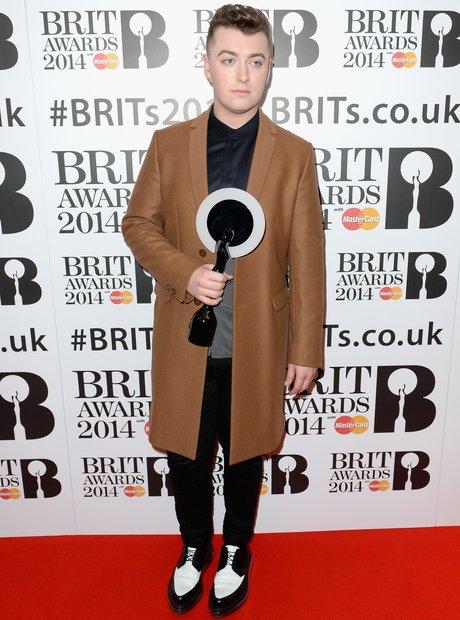 Sam Smith BRIT Awards Nominations 2014