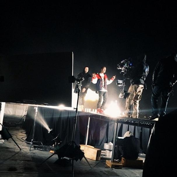 Drake and A$AP wu tang shoot