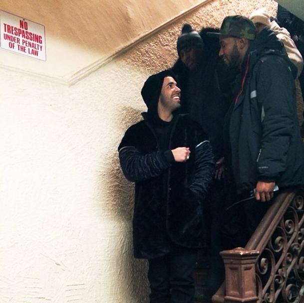 Drake Wu Tang video shoot