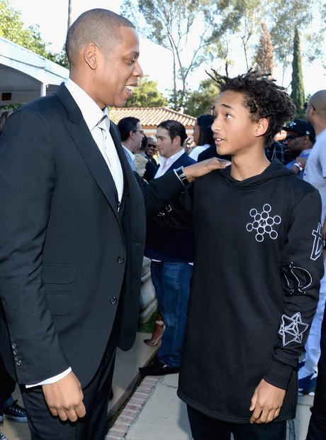 Jay Z Jaden Smith Grammys pre party 2014