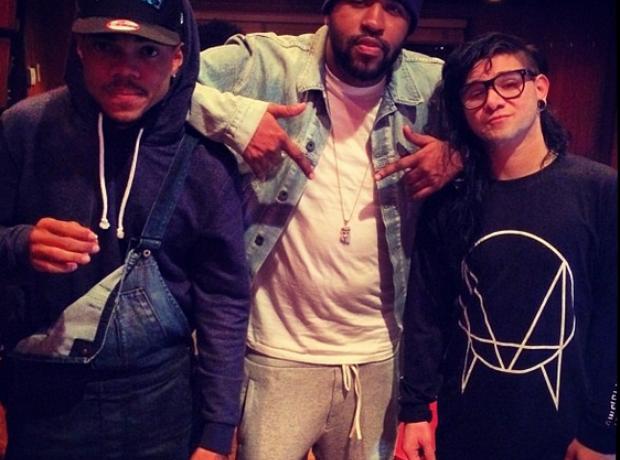 Mike Will Made It Skillrex Chance The Rapper Studi