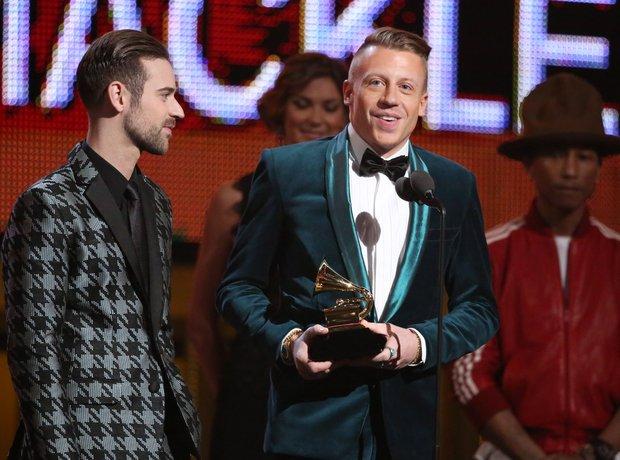Ryan Lewis and Macklemore Grammy Awards 2014