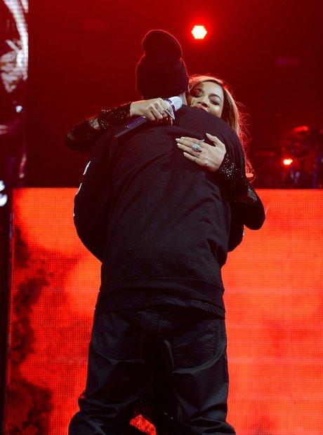 Beyonce Jay Z Superbowl party 2014