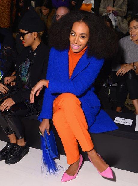 Solange Knowles NY Fashion week