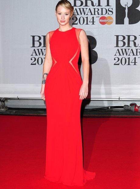 Iggy Azalea at the Brit Awards 2014