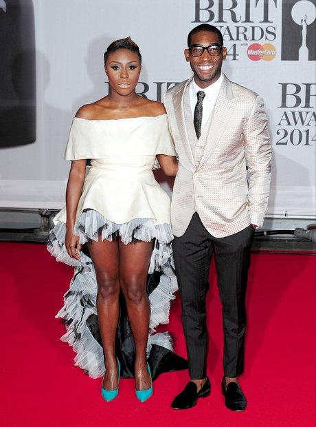 Laura Mvula and Tinie Tempah at the BRIT Awards 20