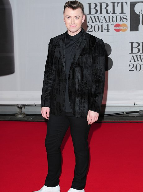 Sam Smith arrives at the BRIT Awards 2014