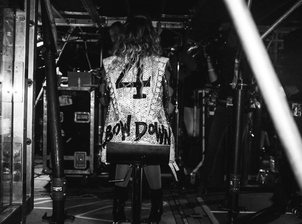 Beyonce UK tour pictures