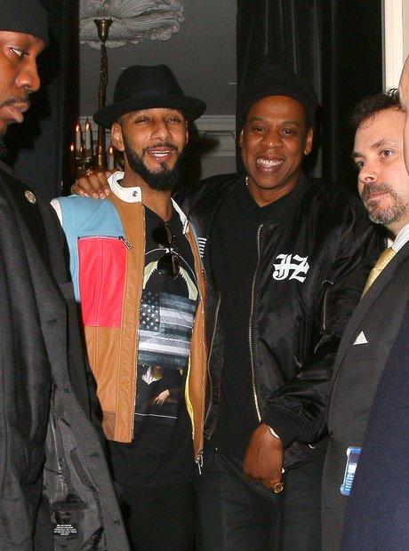 Swizz Beatz and Jay-Z