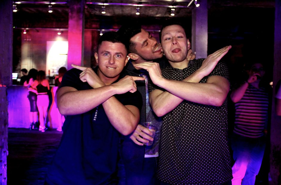 Capital XTRA clubbers at the Victoria Warehouse