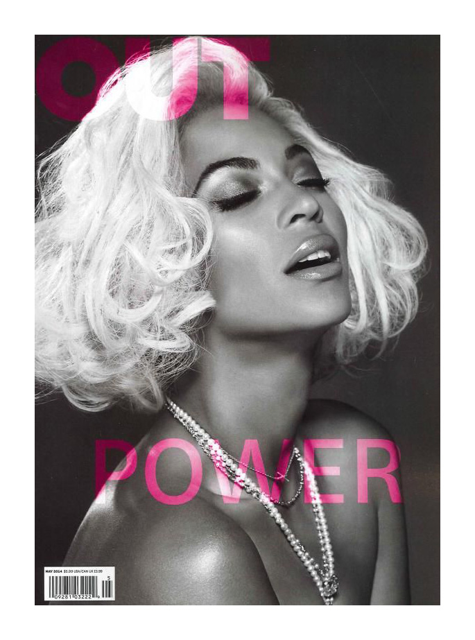 Beyonce 'Out' Magzine 2014