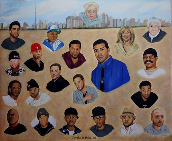Drake Mural