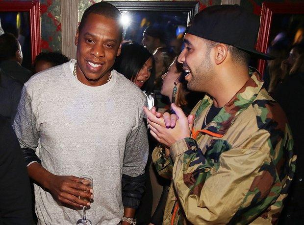 Jay Z and Drake