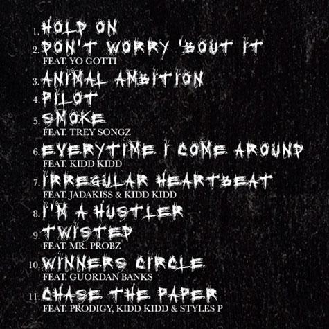 50 Cent Animal Ambition tracklist