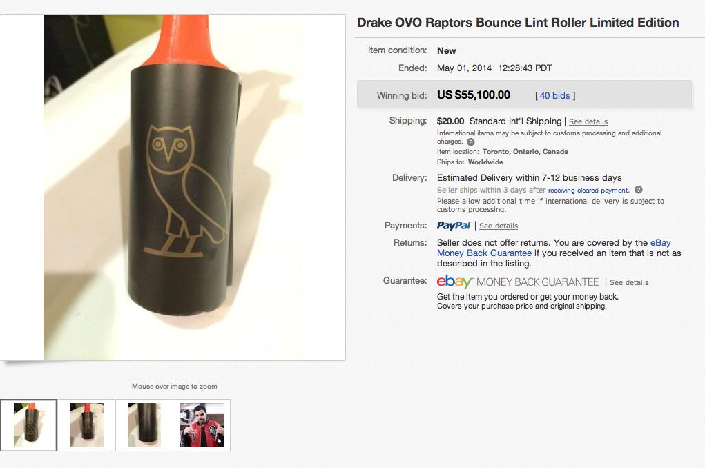Drake Lint Rolling eBay