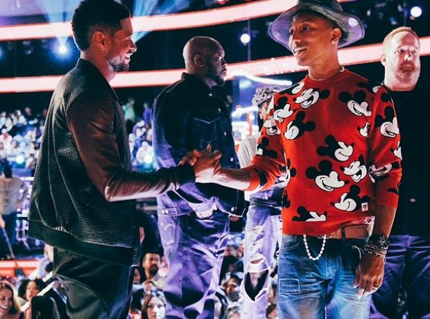 Pharrell Usher The Voice Instagram