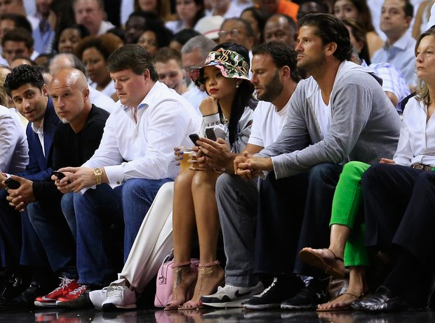 Rihanna basketball game