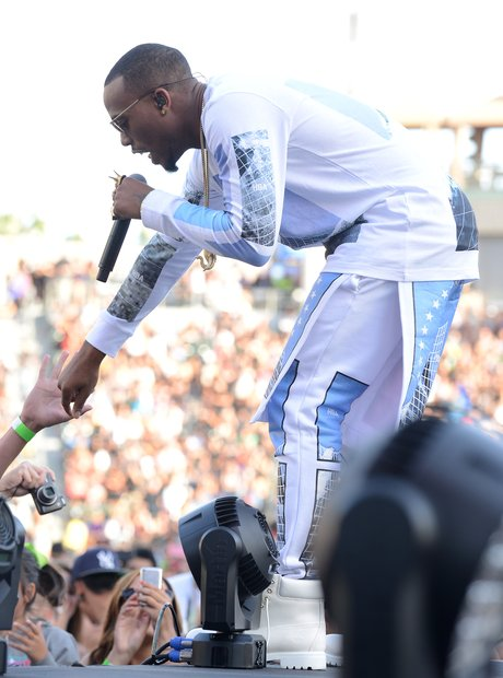 B.o.B performing at  Wango Tango Show