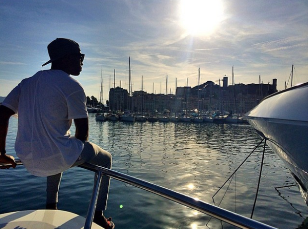 Tinie Tempah in Cannes Instagram