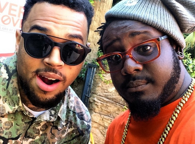 Chris Brown and T Pain