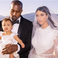 Image 5: Kanye West Kim Kardashian North West Wedding