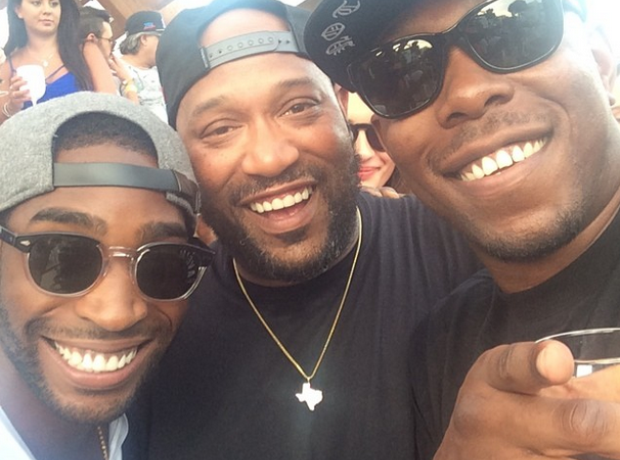 Tinie Tempah and Dizzee Rascal Instagram