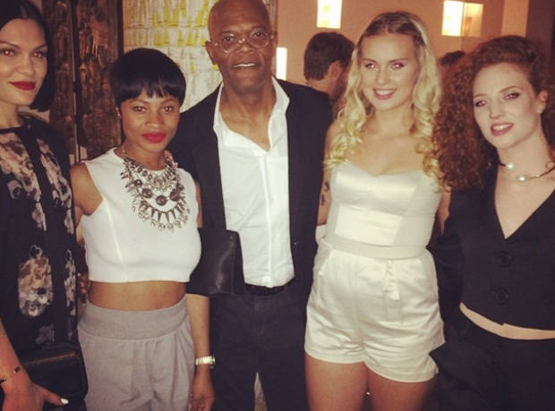 Jessie J All About She Samuel L Jackson Sasha Keab