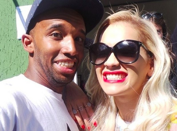 DJ Charlesy And Rita Ora At Wireless Festival 2014
