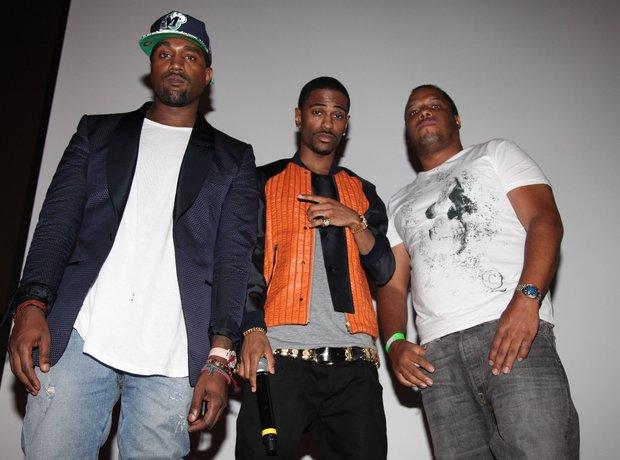 Kanye West, Big Sean and No I.D