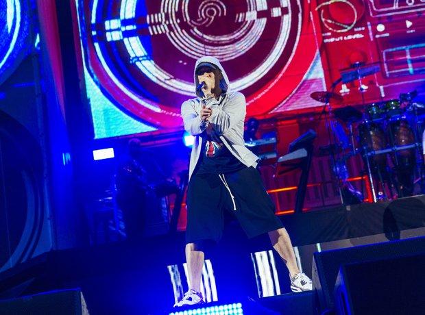 Eminem at Wembley Stadium