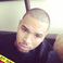 Image 1: Chris Brown selfie